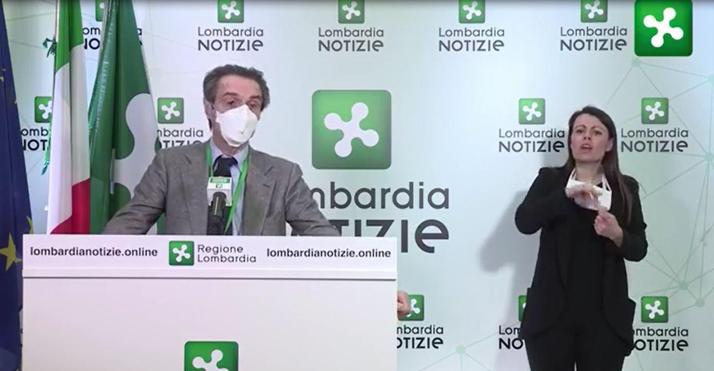 """Fontana: """"Oggi manderemo ai sindaci una lettera con risposte scientifiche"""""""