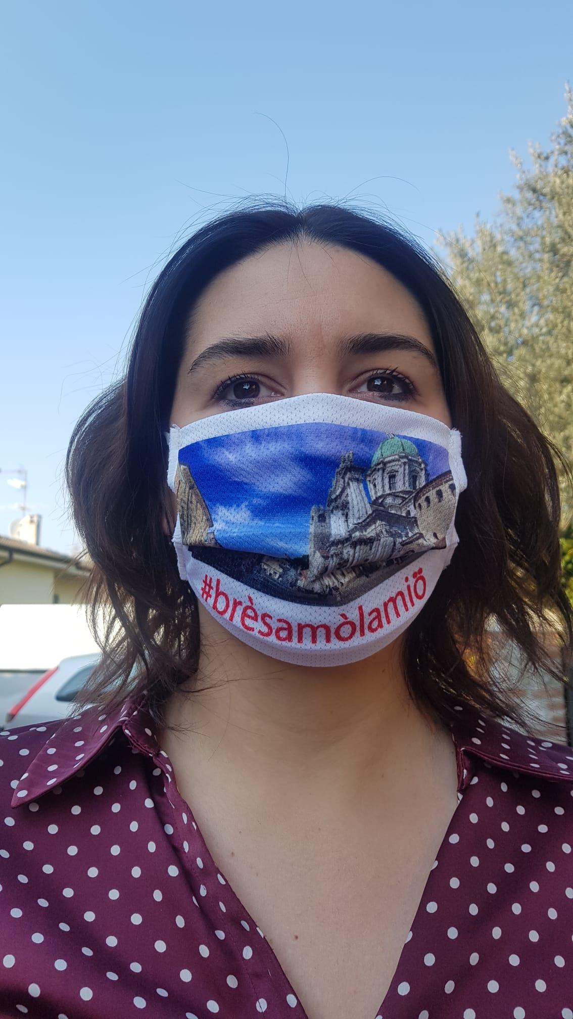"""""""Angeli con ago e filo"""", le mascherine gratis Made in Brescia"""