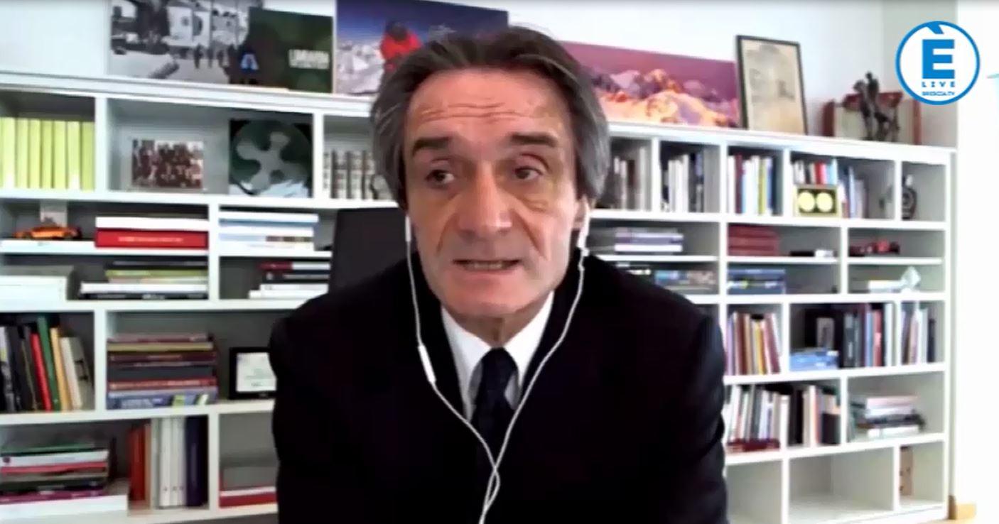 """Fontana: """"Sono convinto che dal 3 i lombardi saranno liberi di circolare in tutta Italia"""""""