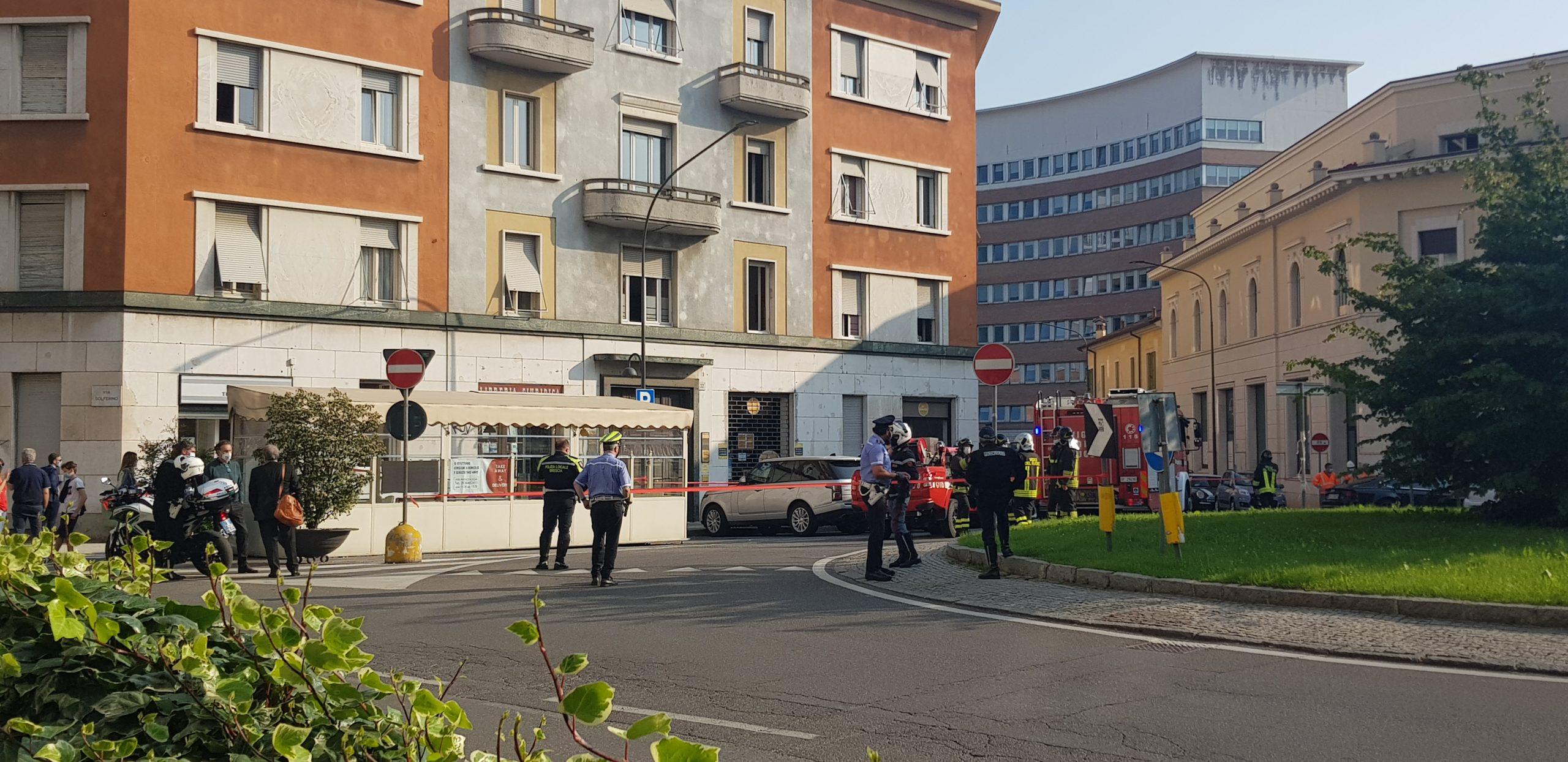 Evacuata la sede del Brescia Calcio per una fuga di gas