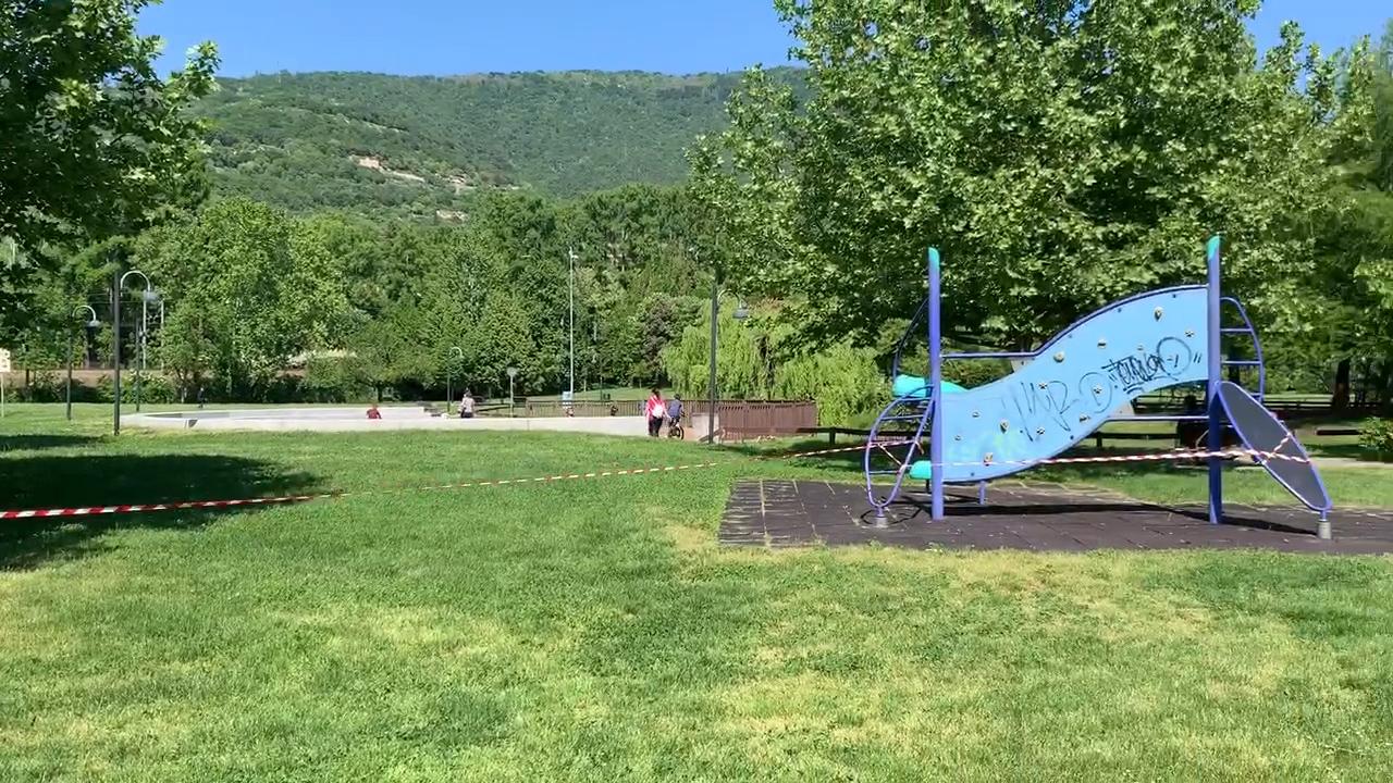 Fase 2, il primo giorno di libertà è al parco