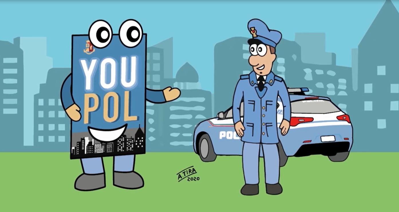 """Polizia di Stato: l'app """"YouPol"""" contro il bullismo"""