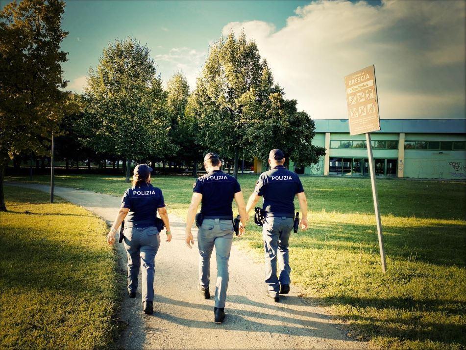 """Operazione """"Città sicura"""": controlli anche nei parchi"""