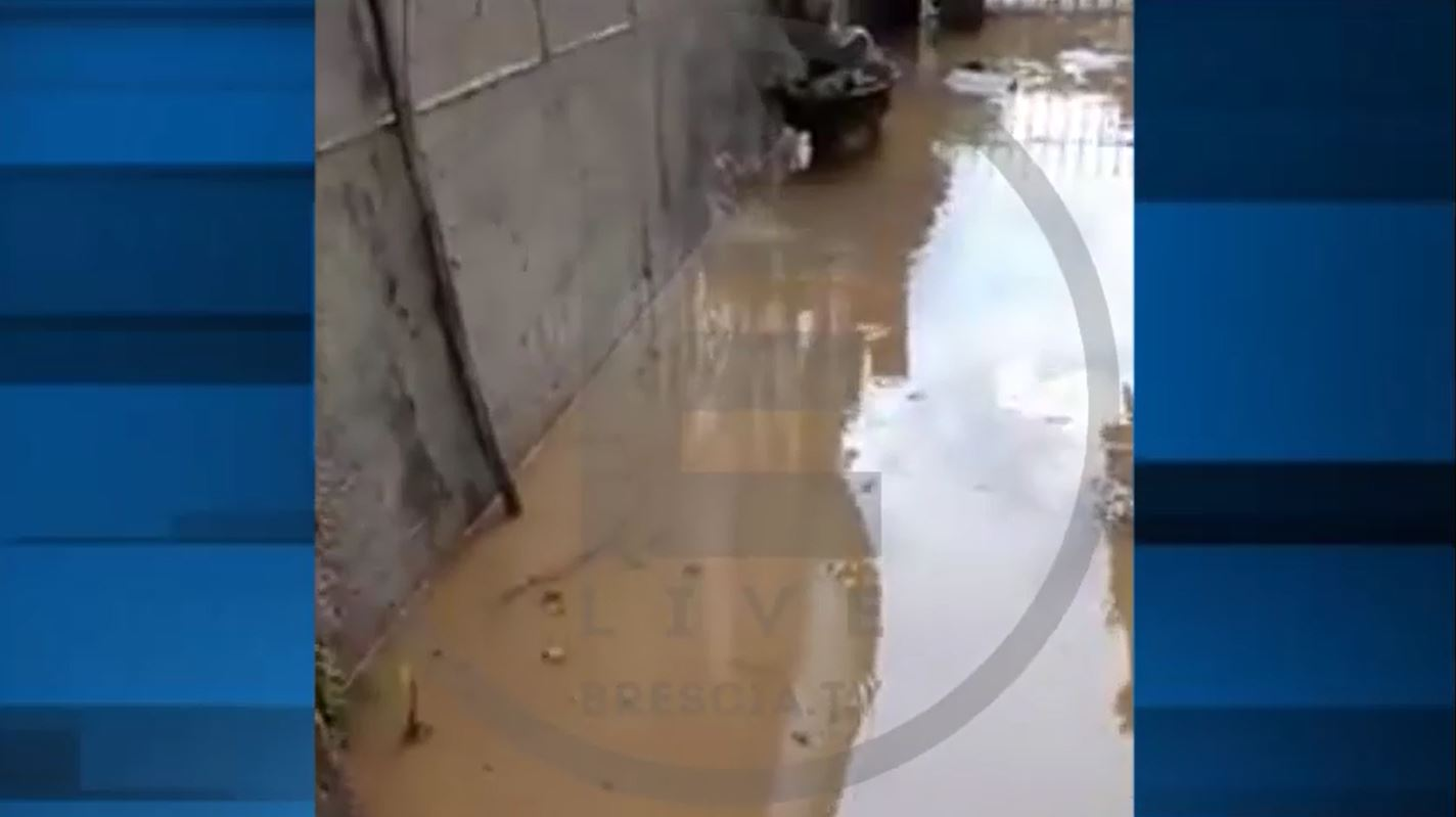 Maltempo in provincia: in Franciacorta garage allagati VIDEO
