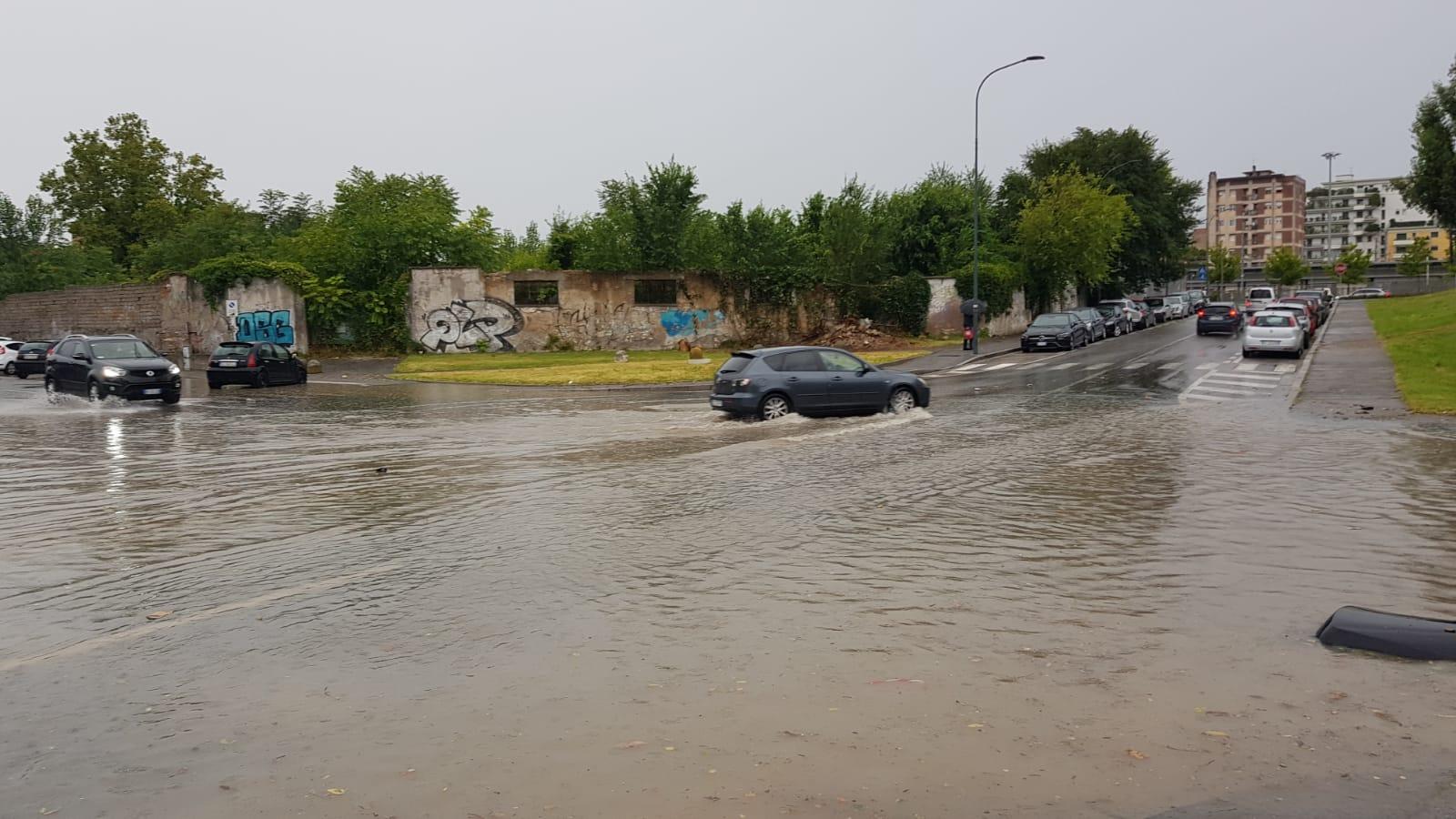 Nuova ondata di maltempo su Brescia VIDEO