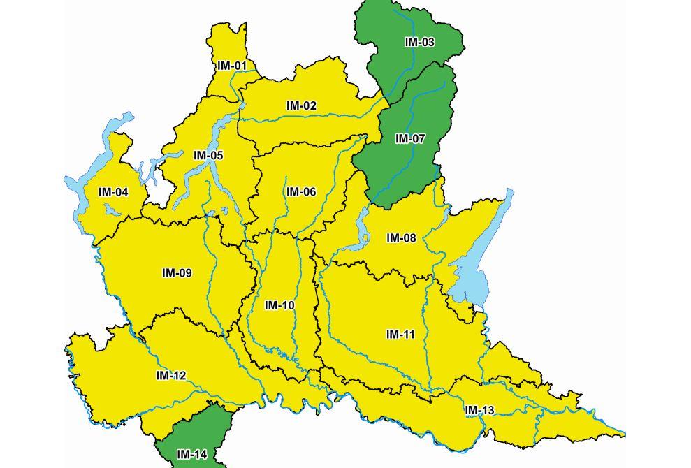 Allerta gialla: temporali forti anche su Brescia