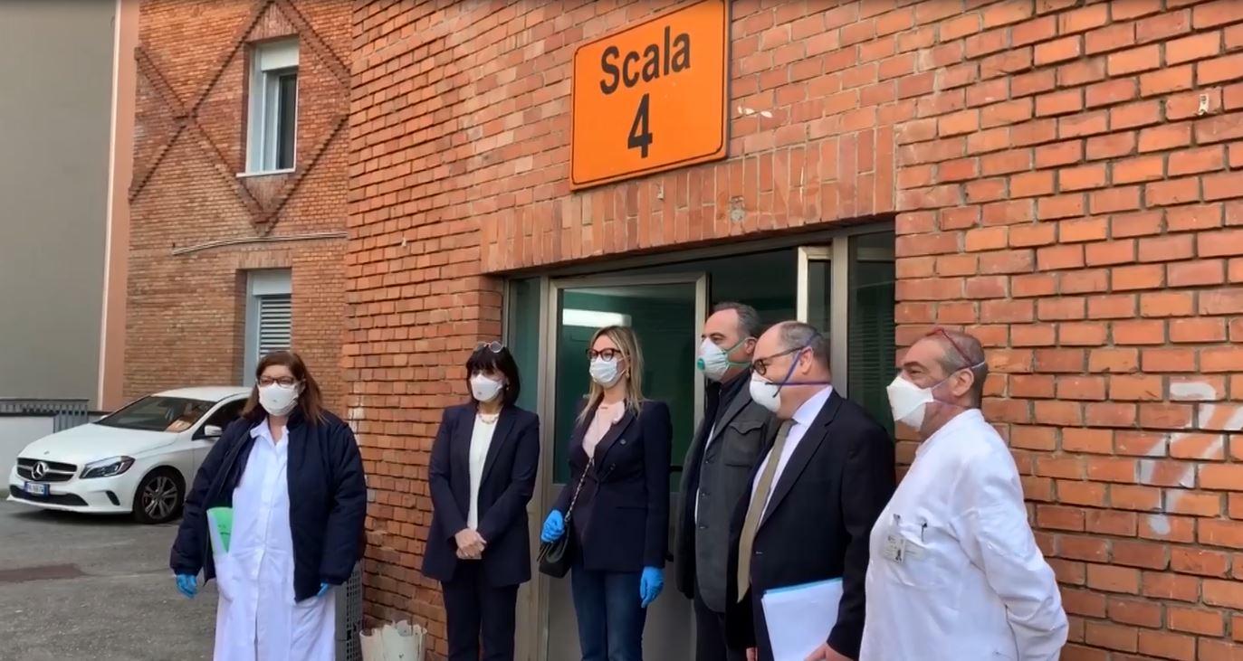 Scala 4, centro Covid al Civile: deciso il 4 aprile, aperto il bando il 20 agosto. Persi 4 mesi importanti. Perchè?