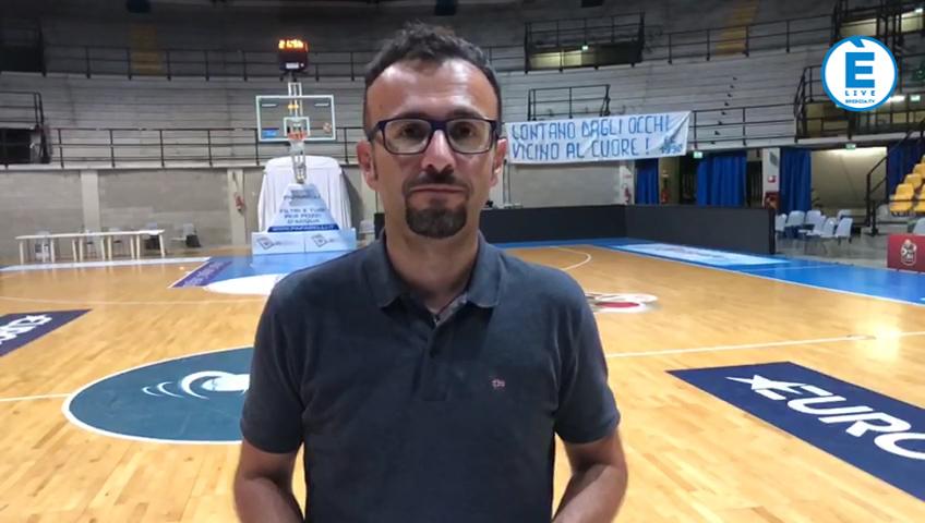 Debutto con il botto, a Desio  Pallacanestro Brescia batte Cantú 76-75. Il commento di Alberto Banzola
