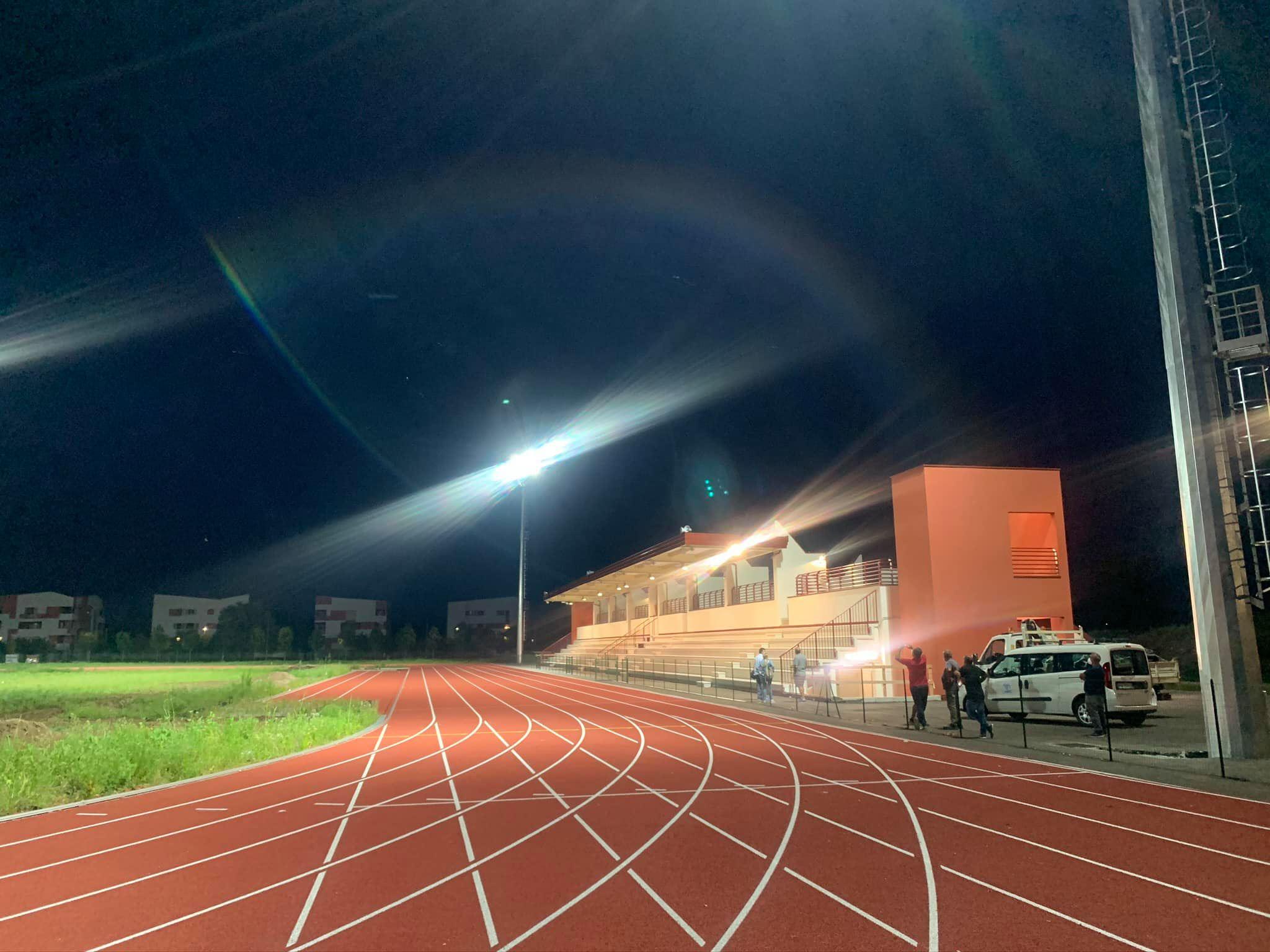 Luci a Sanpolino: la pista di atletica vede il traguardo