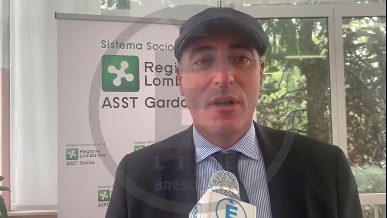 """Ricostruzione ospedale di Lonato, Gallera: """"un nuovo ospedale in tempi molto contenuti"""""""