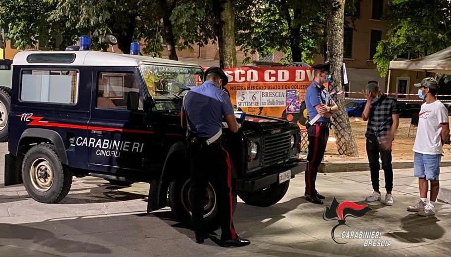 Movida osservata speciale: Carabinieri in piazza Tebaldo e Arnaldo