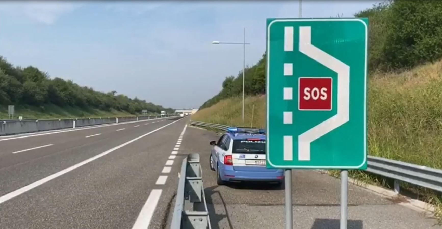 Polizia stradale: da gennaio quasi 10mila sanzioni per mancato pagamento del pedaggio autostradale