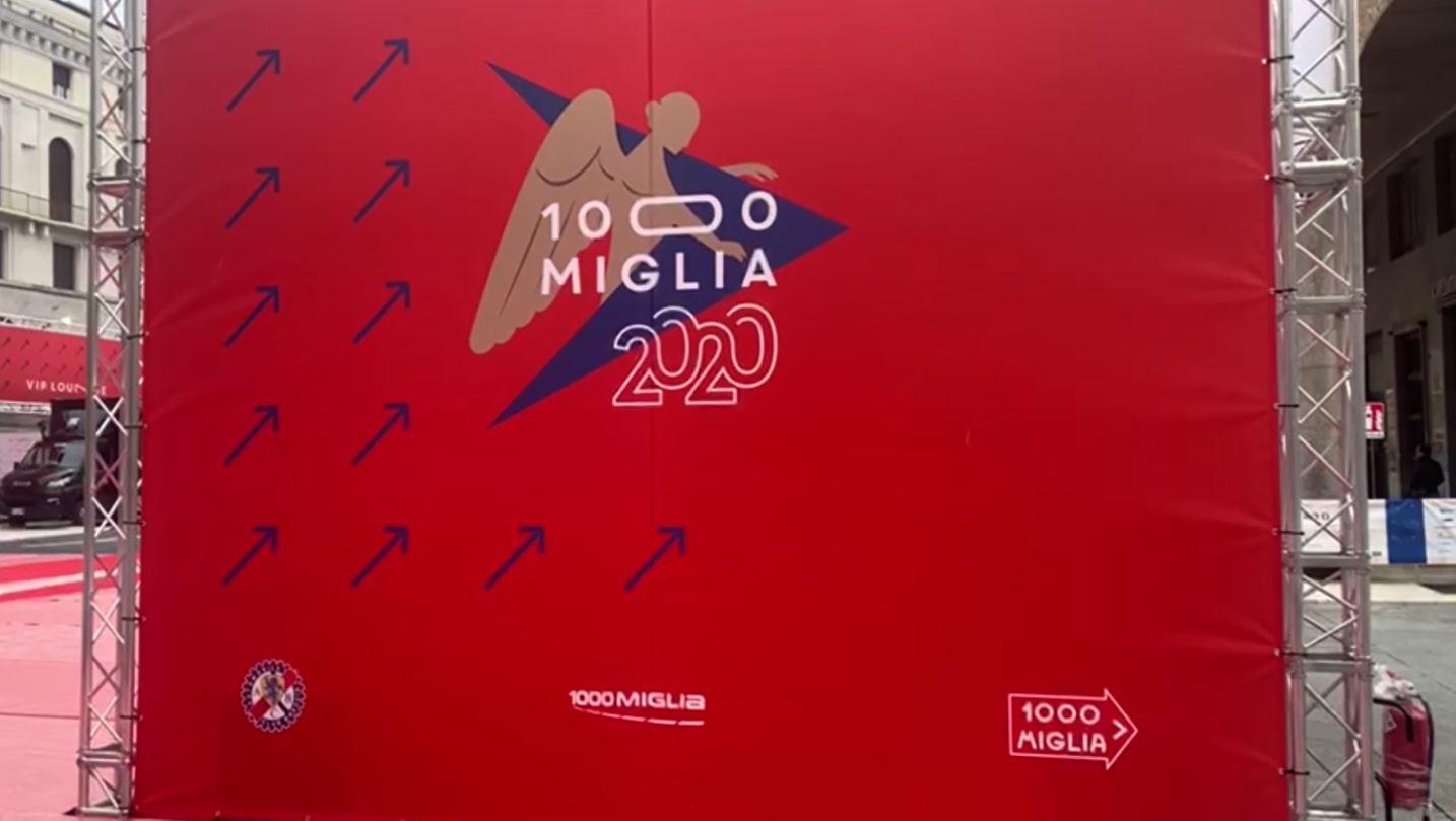 Ufficiale: la Mille Miglia 2020 si farà, ma saltano i centri storici