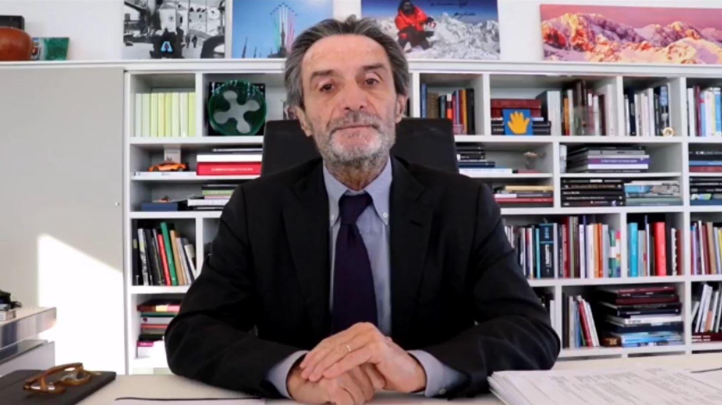 """Fontana: """"Ho chiesto a Conte di eliminare il blocco degli spostamenti fra i Comuni"""""""