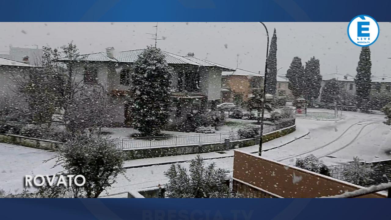 La neve a Brescia e in provincia attraverso i vostri video al nostro whatsapp 393 1616197