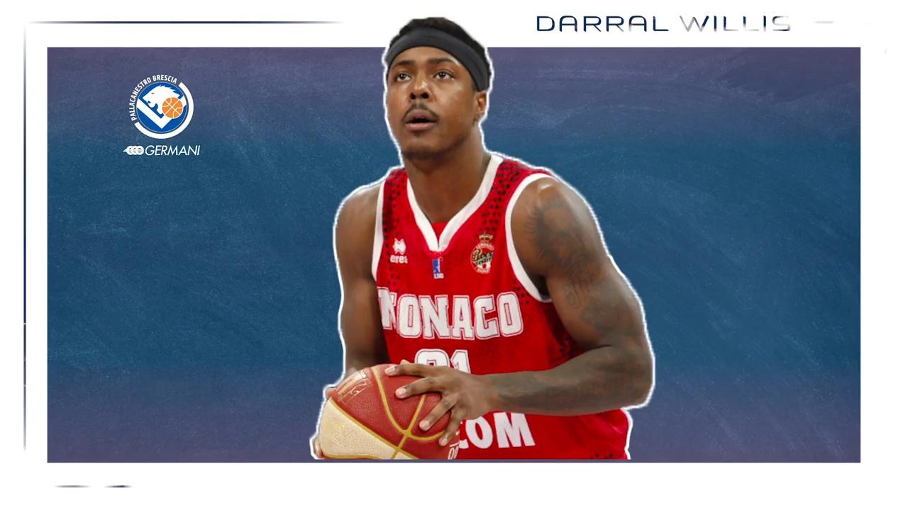 Darral Willis è un nuovo giocatore della Germani, ai saluti Tj Cline