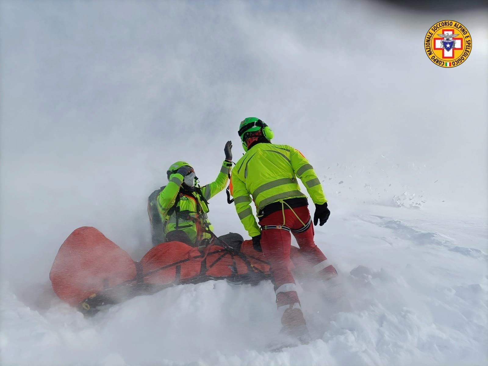 Due interventi in poche ore per il Soccorso alpino nella nostra provincia