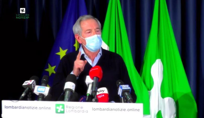 """Bertolaso: """"Vaccinare tutta la Lombardia prima di giugno è possibile, ce la faremo"""""""
