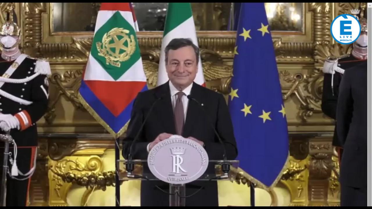 Governo Draghi, ecco la squadra dei neo Ministri. Sabato alle 12.00 il giuramento