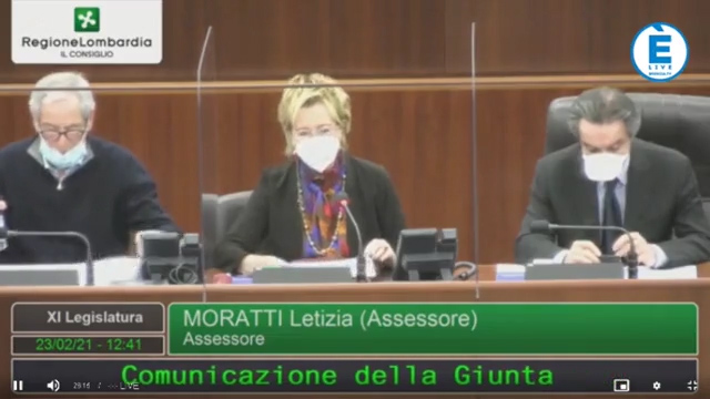 """Brescia e provincia """"zona arancione rafforzata"""". L'annuncio della VicePresidente Moratti"""