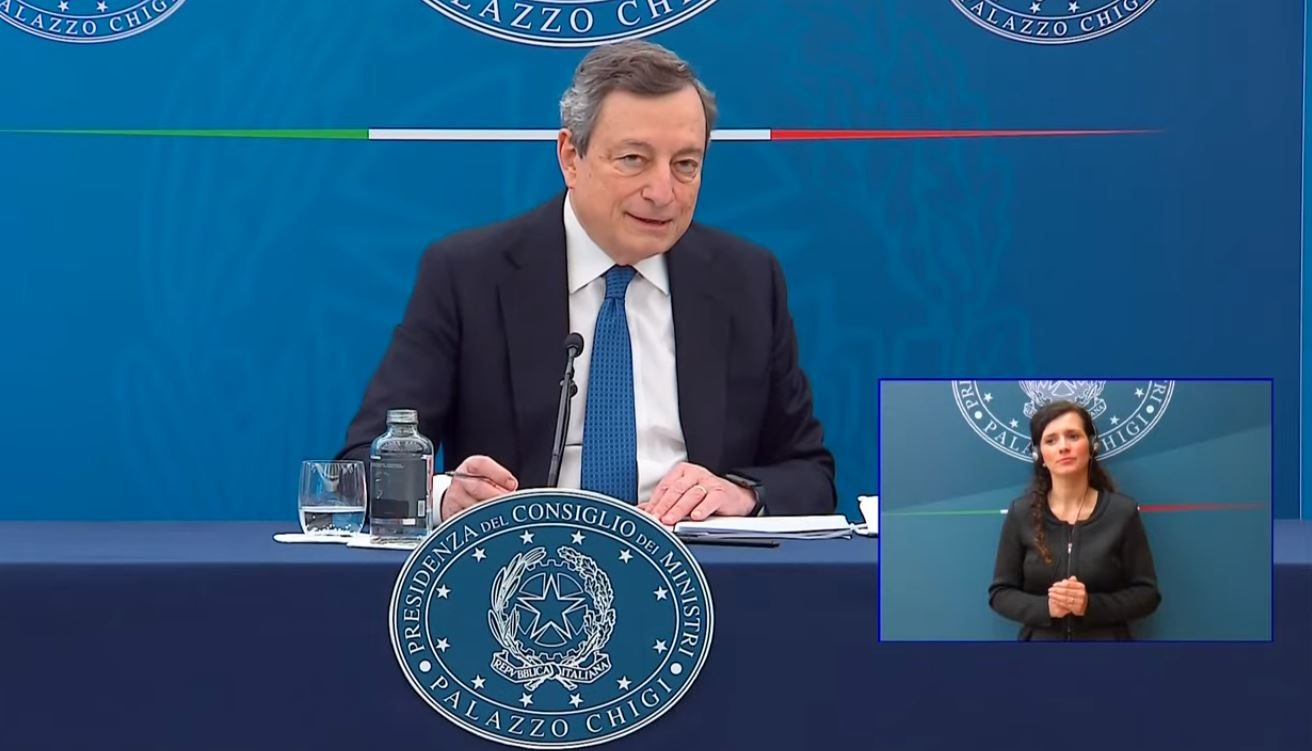 """Draghi, """"più facile per i giovani comprare casa con la garanzia dello Stato"""""""