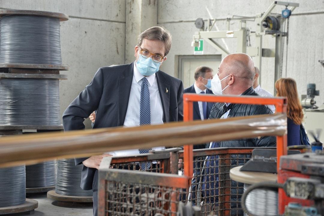 """Guidesi a Brescia: """"Un tavolo per attrarre gli investimenti in Lombardia"""""""