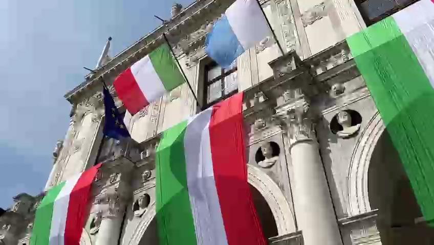 25 Aprile, le celebrazioni in Loggia. Il video integrale