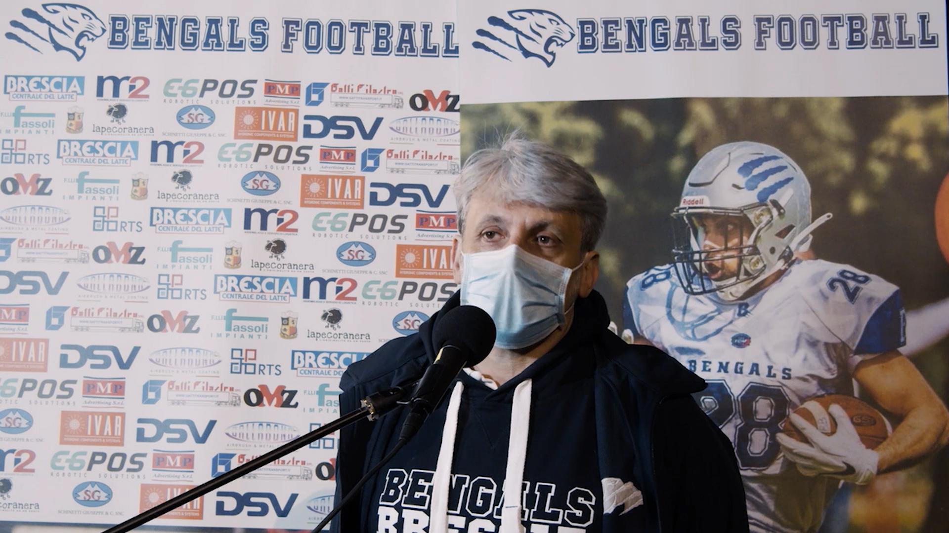"""Bengals, domenica alle 15.00 ci sono i Vipers. Corti """"è un avversario tosto"""""""