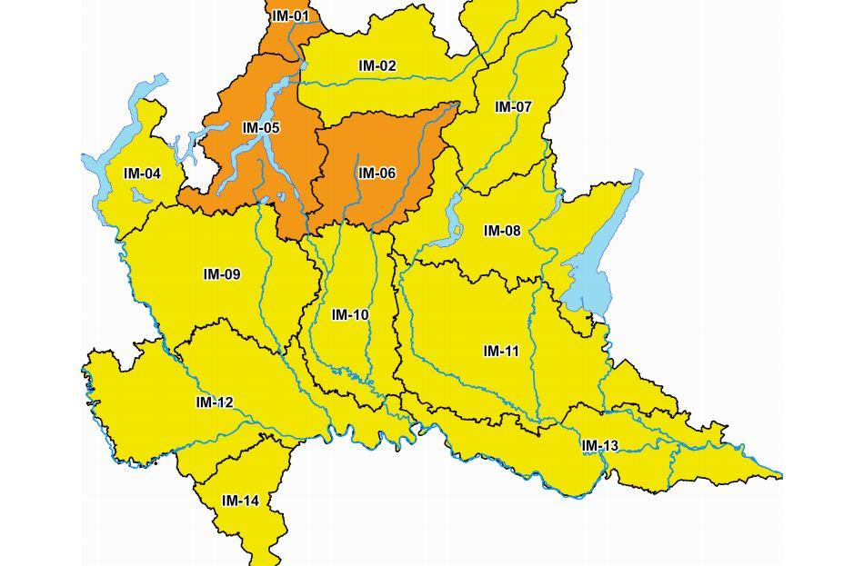 Allerta meteo gialla: forti piogge in arrivo anche a Brescia
