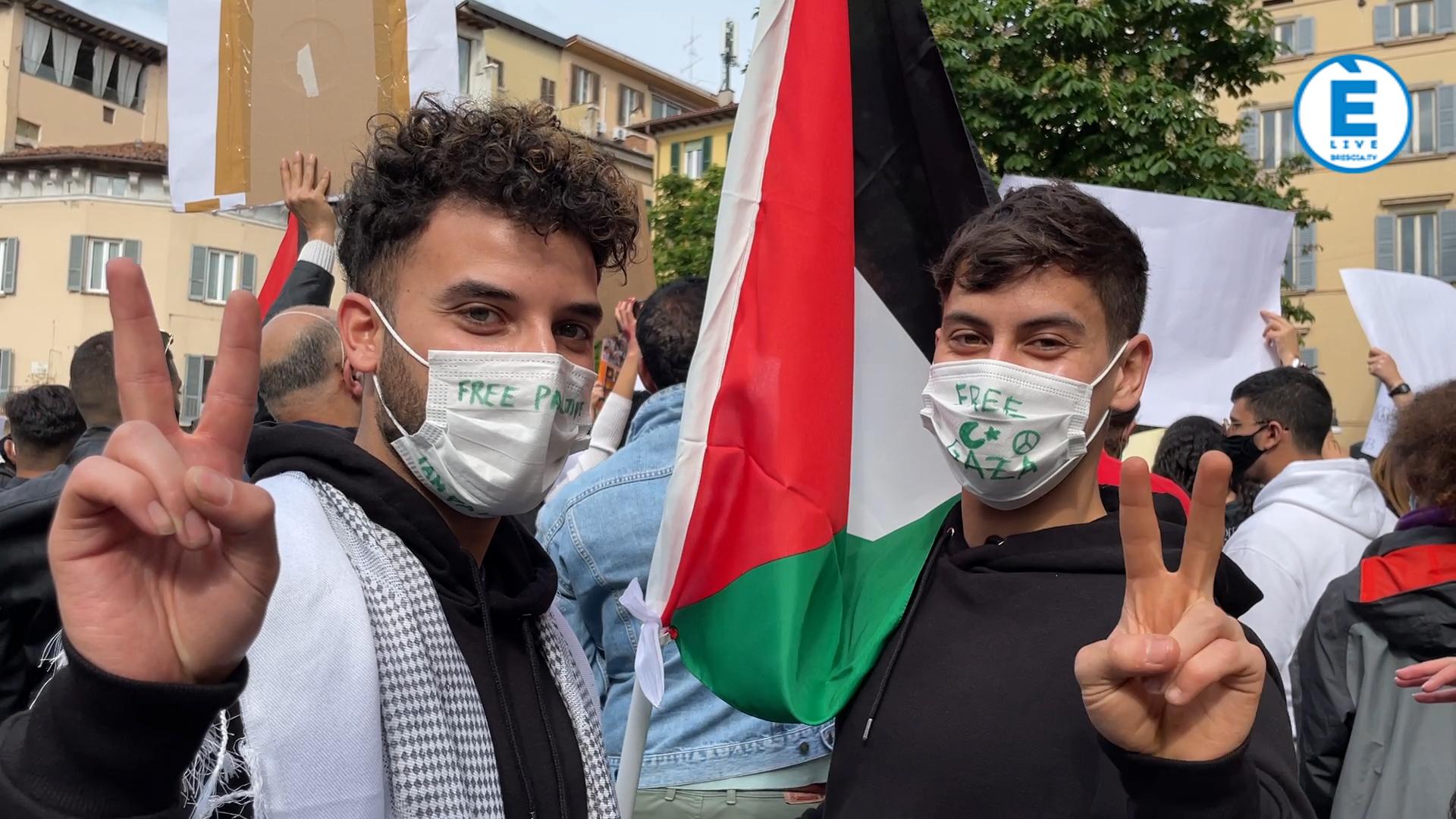 Brescia, in piazza per la Palestina libera