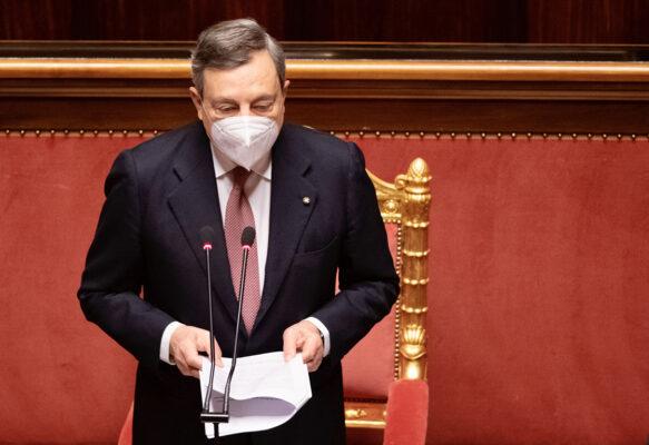 """Draghi: """"Il nostro obiettivo è riaprire al più presto l'Italia al turismo"""""""