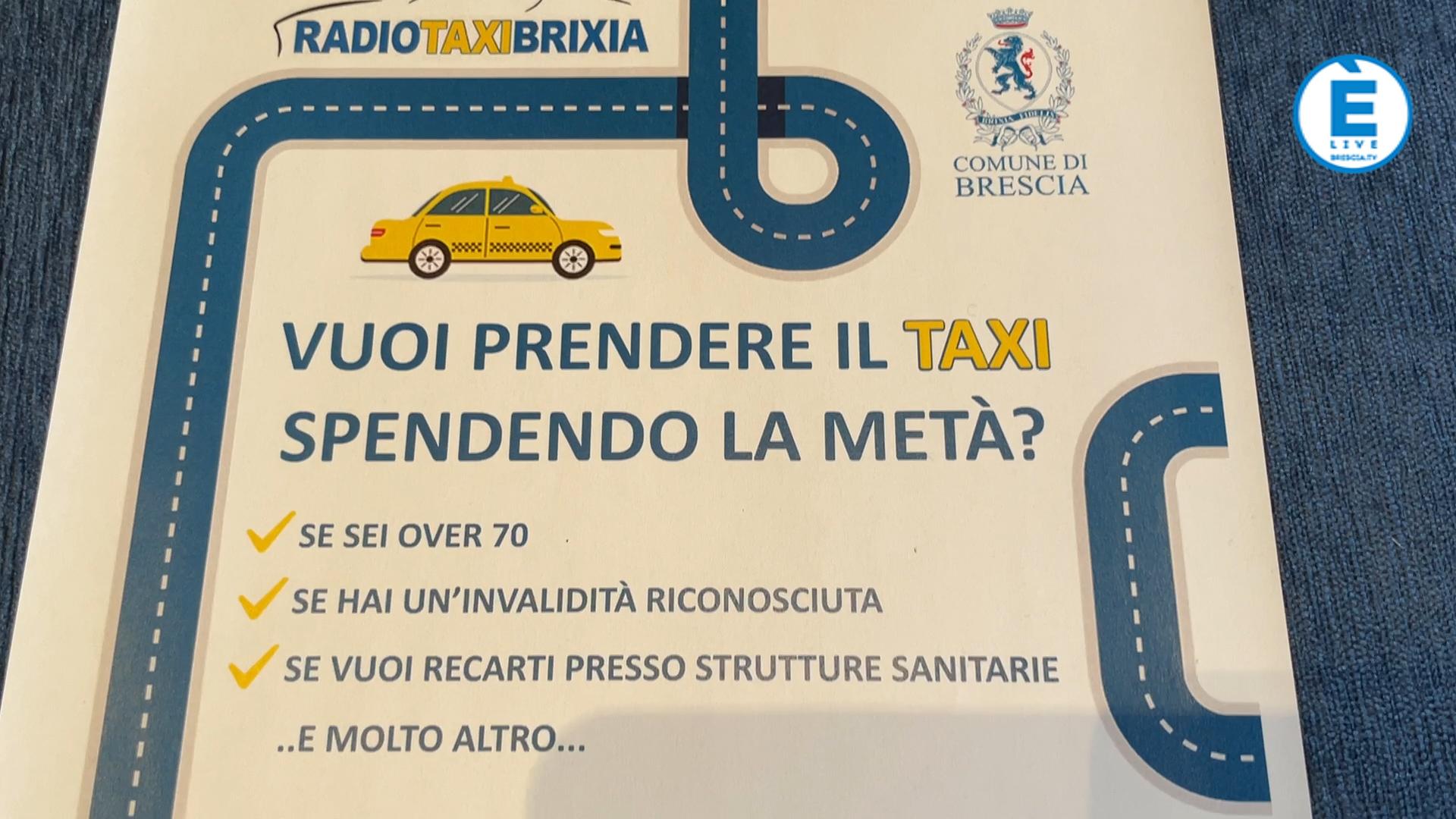 """In Taxi con il """"buono viaggio"""" del Comune di Brescia"""