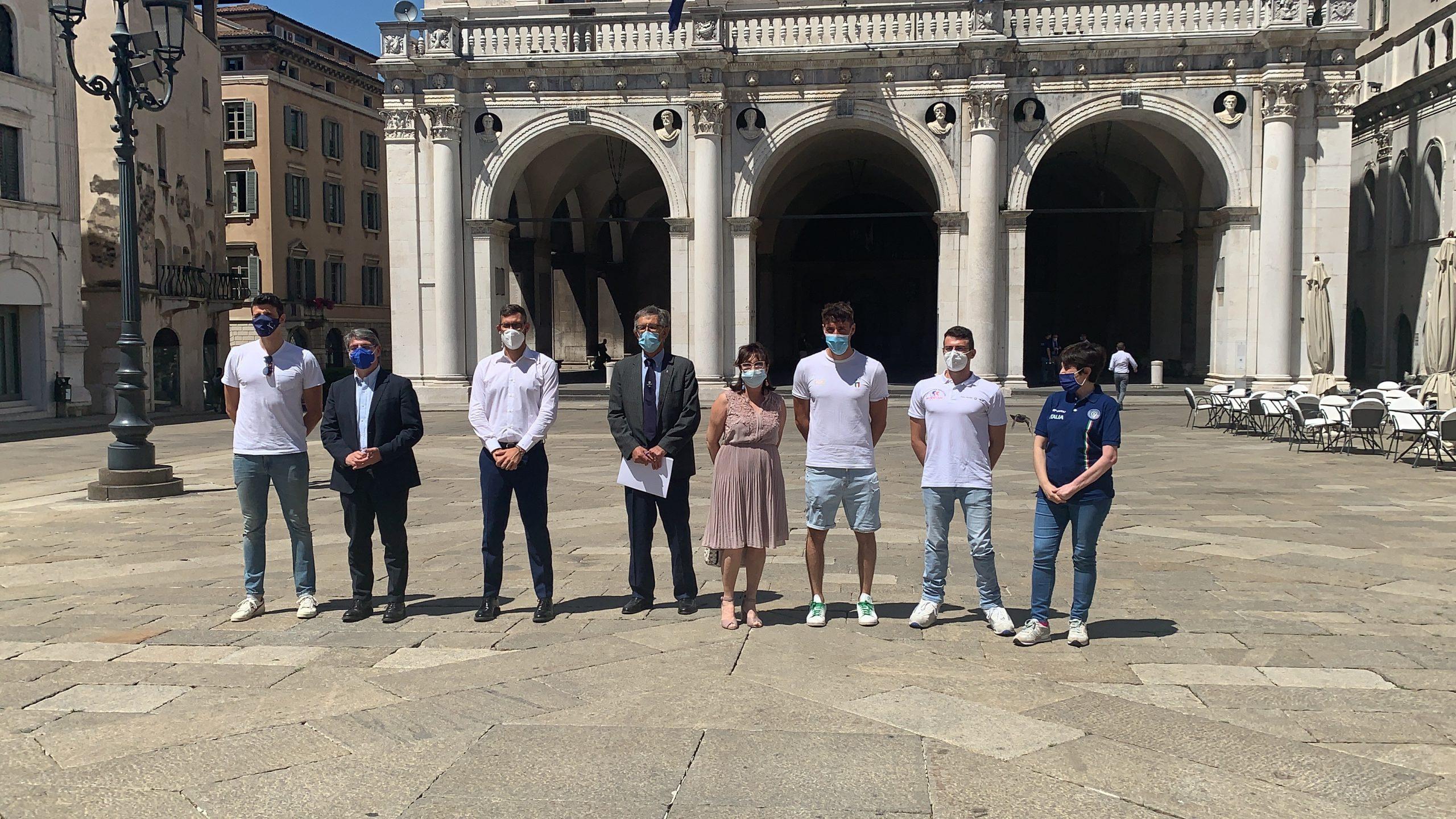 Brescia saluta i suoi atleti pronti per le Olimpiadi