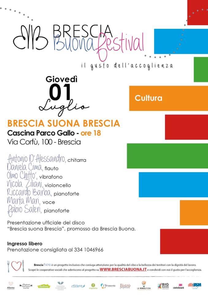"""Al via """"Brescia Buona Festival"""", alle 18 alla Cascina parco Gallo"""