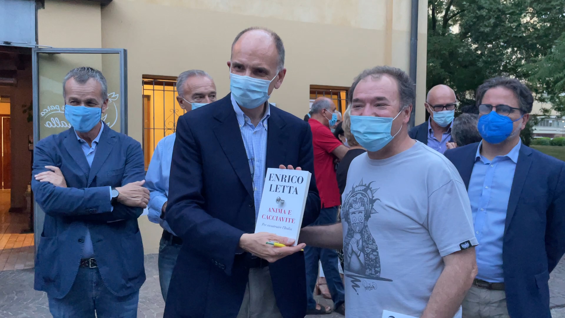 """Letta a Brescia, """"Anima e cacciavite"""" fra giovani e riforme"""