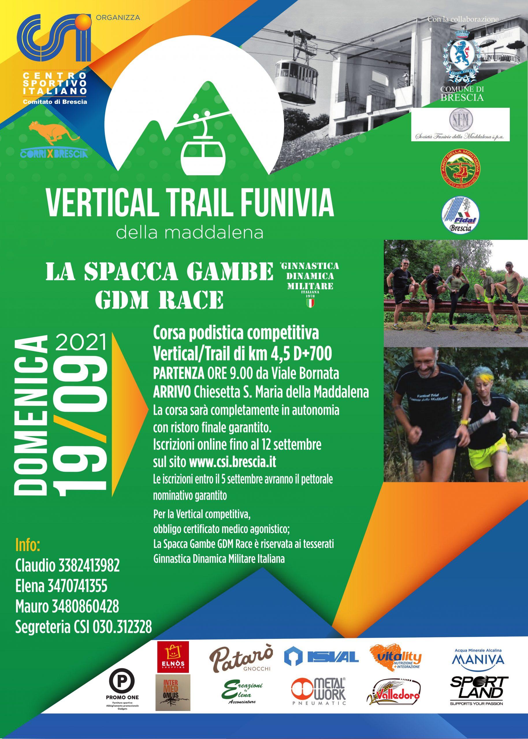 """""""Vertical Trail Funivia"""" la corsa che non c'era, ora è realtà"""