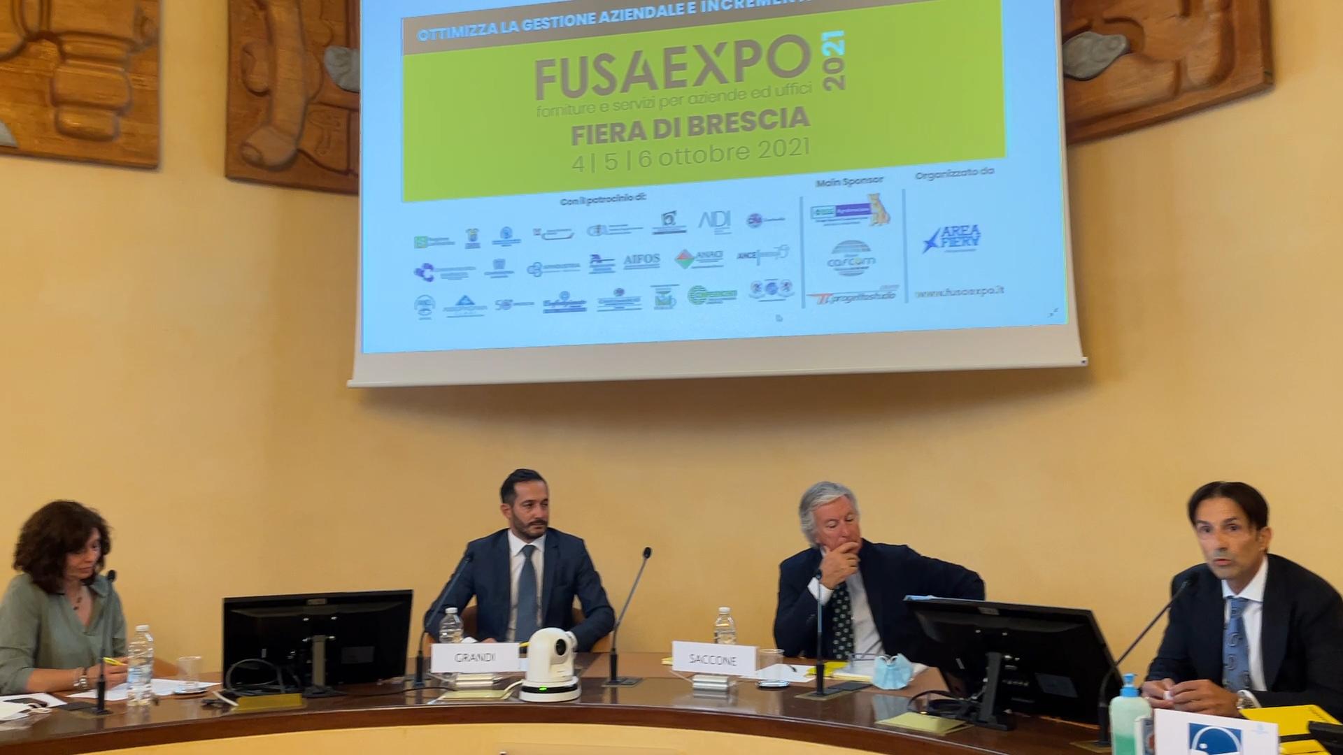 Fusa Expo, arriva la prima fiera b2b al Brixia Forum. Main sponsor BCC Agrobresciano