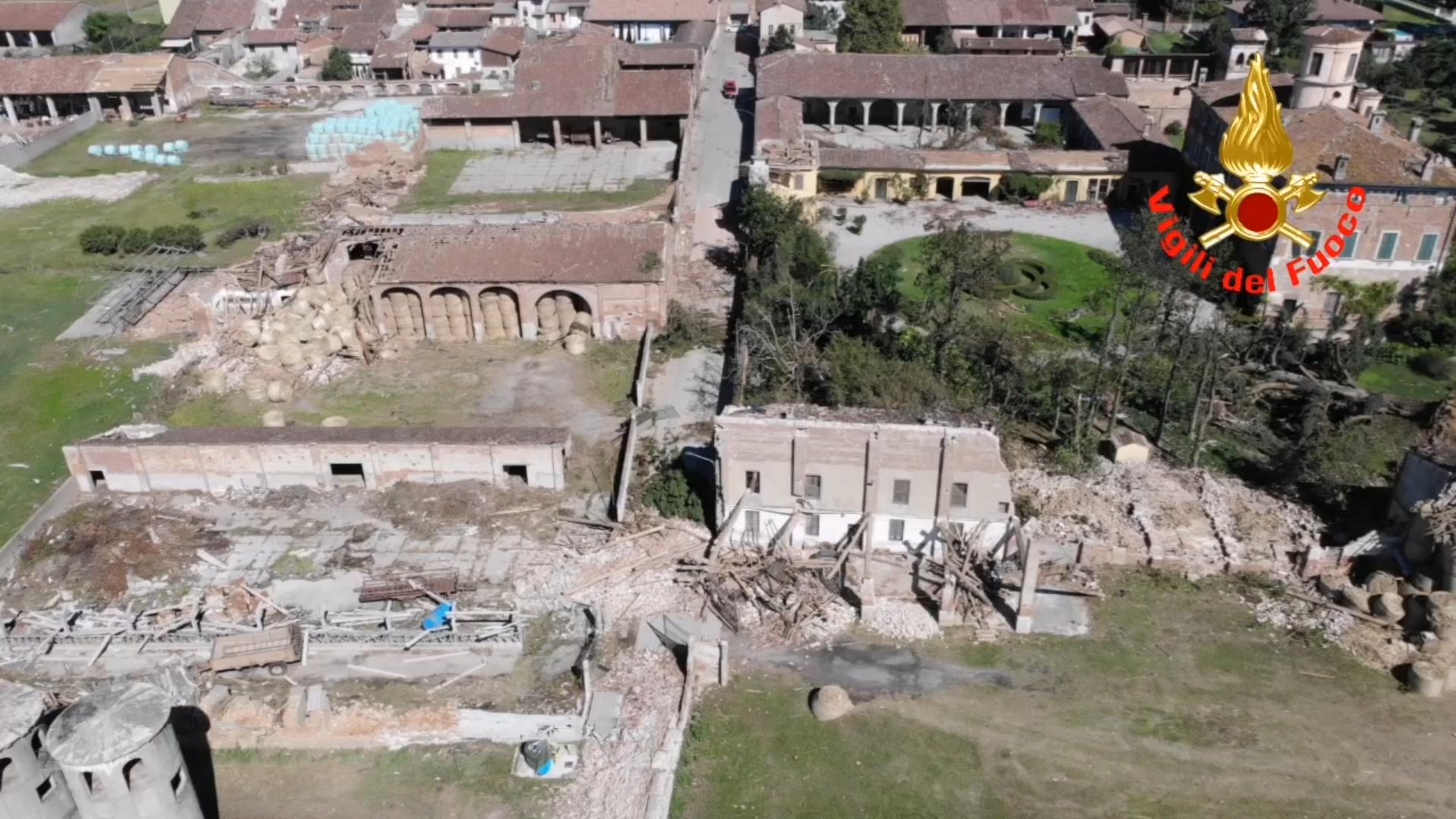 Tromba d'aria, a Bettegno è l'ora della conta dei danni