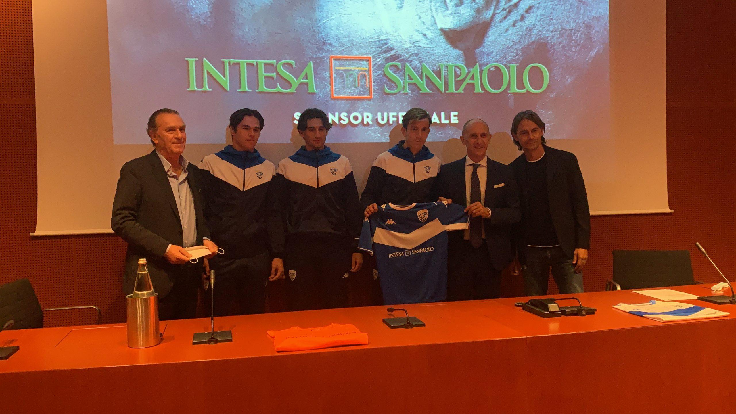 Brescia Calcio e Intesa Sanpaolo insieme per crescere nuovi campioni
